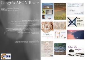 horarios congreso AFONIB2014